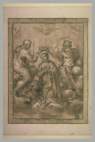 Le Couronnement de la Vierge par la Sainte Trinité