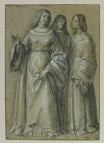 Trois femmes debout