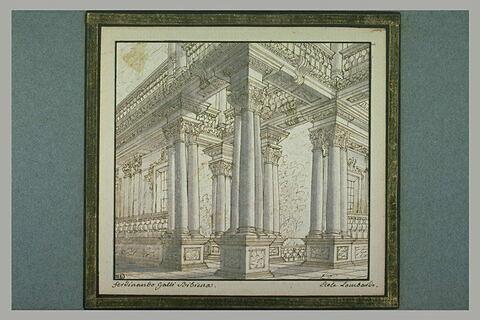 Galerie d'un palais