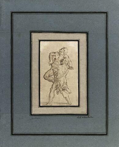Hercule étouffant Antée