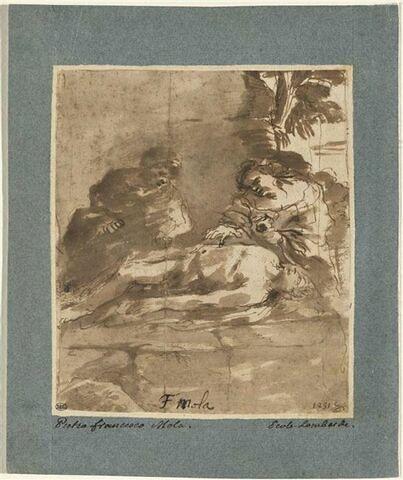 Saint Sébastien soigné par Irène et sa servante