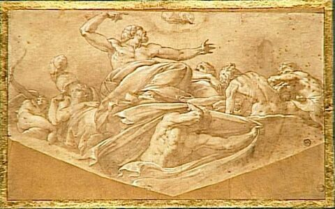Jupiter plaçant Callisto parmi les astres