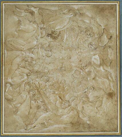 Jupiter parmi les dieux