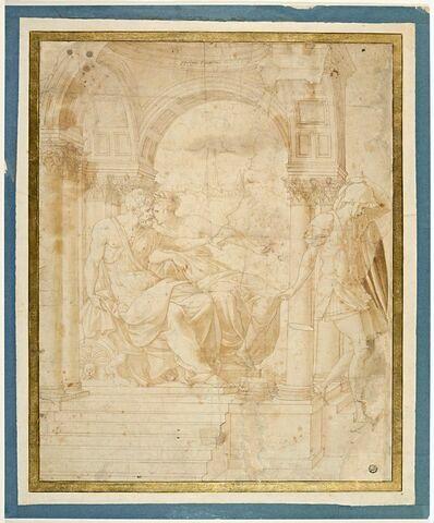 Hippolyte accusé par Phèdre auprès de Thésée