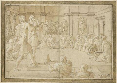 Le banquet d'Alexandre