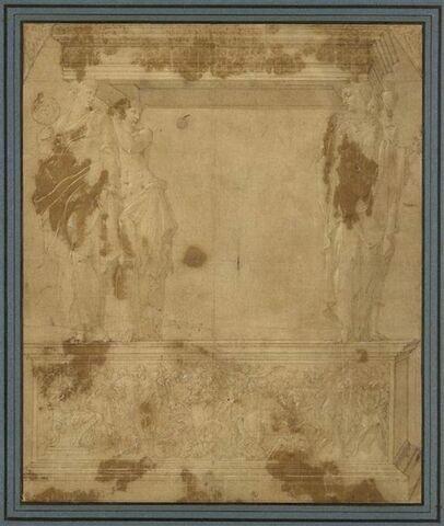 Projet pour le tombeau de Claude de Lorraine et d'Antoinette de Bourbon