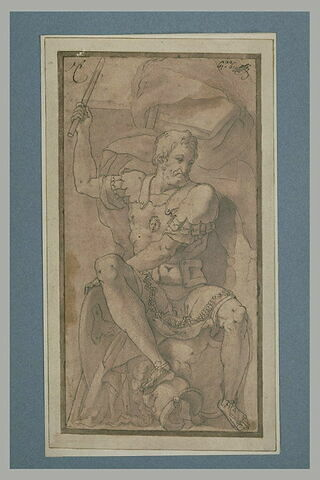 Portrait de François 1er en Jules César