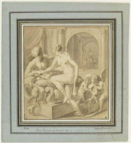 Alexandre recevant Thalestris dans sa couche