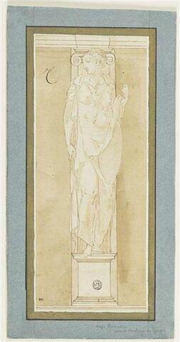 Cariatide du tombeau de Claude de Lorraine et d'Antoinette de Bourbon