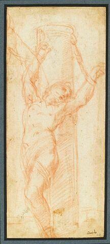 Saint Sébastien à la colonne