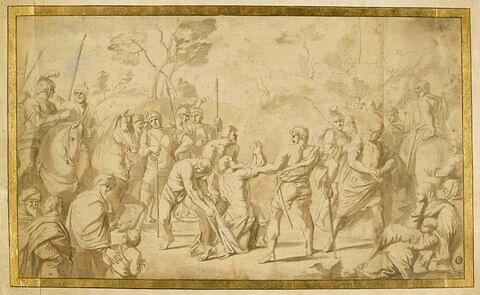 Saint André conduit au martyre