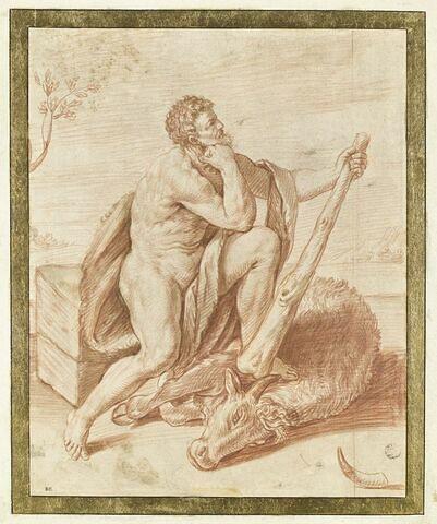 Hercule vainqueur d'Acheloos