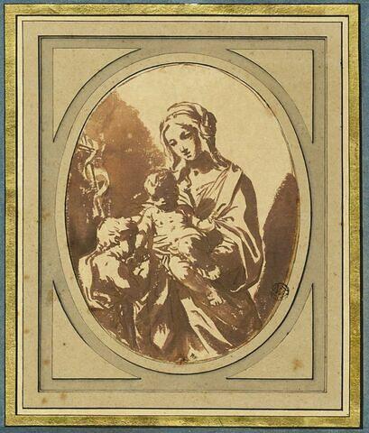 Vierge à l'Enfant avec le petit saint Jean