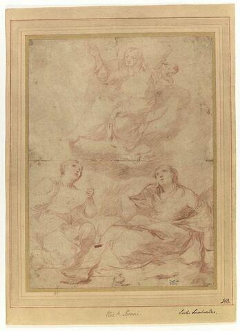 Apparition de la Vierge à sainte Véronique et sainte Madeleine