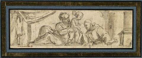 La Vierge, l'Enfant Jésus et saint Antoine de Padoue