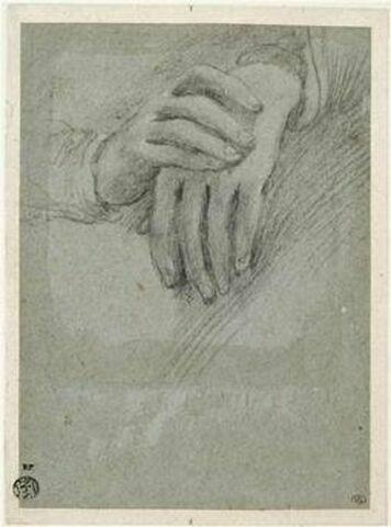 Etude des mains de la Vierge