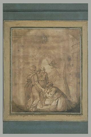 Apparition des trois anges à Abraham