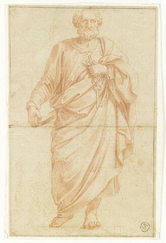 Saint Pierre, debout, de face