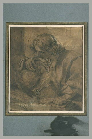 Saint Jean tenant son aigle