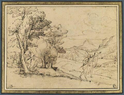 Paysage avec Tobie et l'archange Raphaël