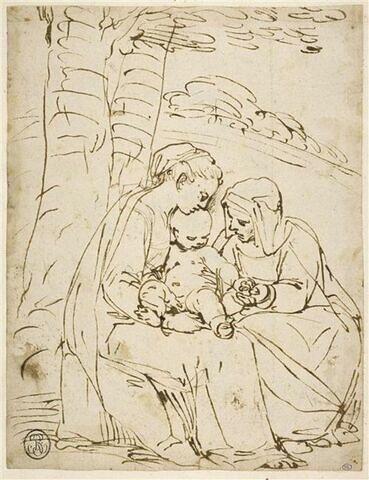 Vierge à l'Enfant avec sainte Elisabeth