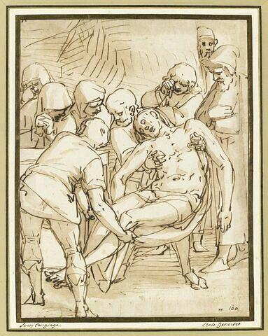 Christ porté au Tombeau