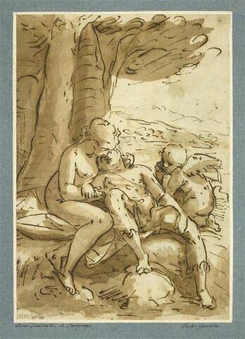 Vénus pleurant Adonis