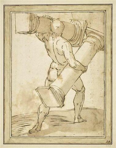 Hercule portant les colonnes