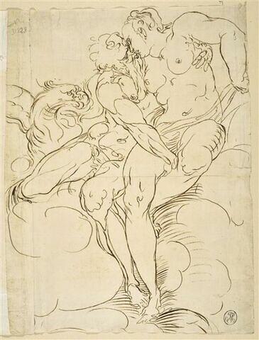 Jupiter embrassant Junon
