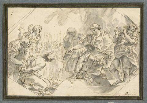 Manlius Torquatus condamnant à mort son fils