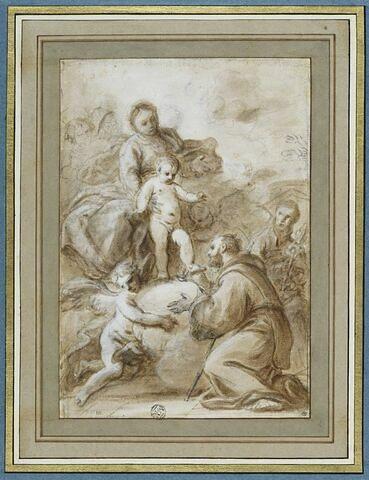 Apparition de la Vierge à l'Enfant à saint Antoine de Padoue