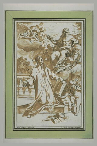 Le Christ apparaissant au fondateur des écoles pieuses