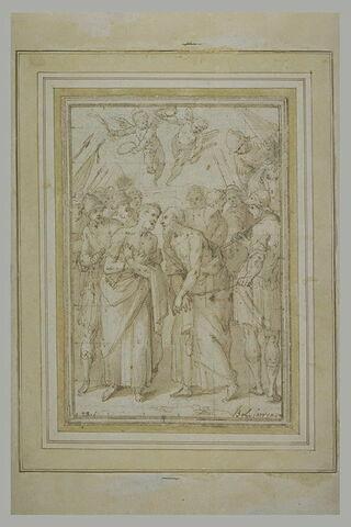 Adieux de saint Pierre et de saint Paul