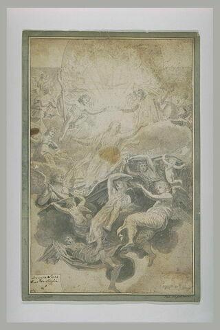 Assomption de la Vierge couronnée par la sainte Trinité