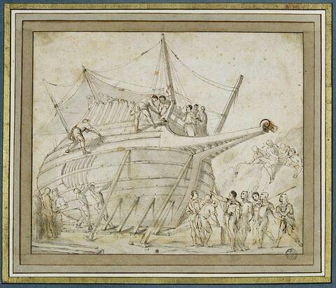 Construction d'un vaisseau
