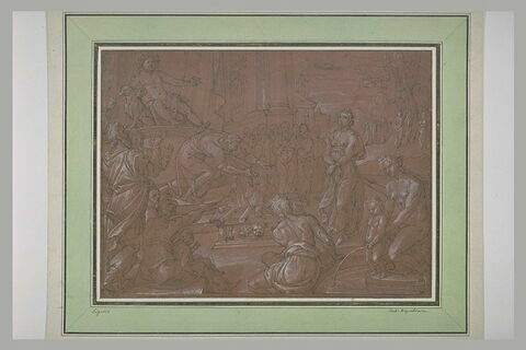 Corésus, grand prêtre de Bacchus se sacrifiant, à la place de Callirhoé
