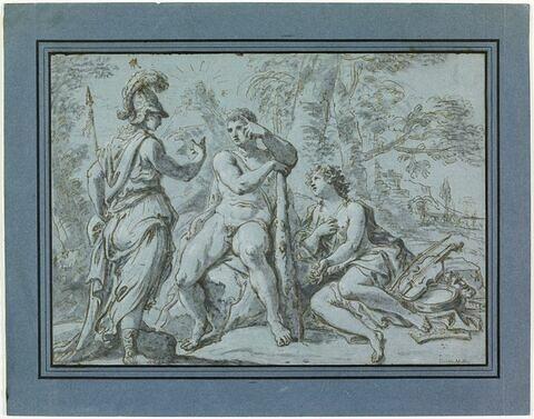 Le Choix d'Hercule entre le vice et la vertu