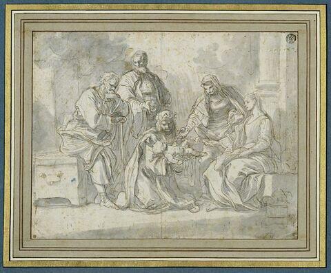 Sainte Thérèse ressuscitant son neveu