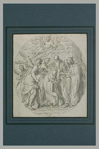Sainte Thérèse prenant le voile