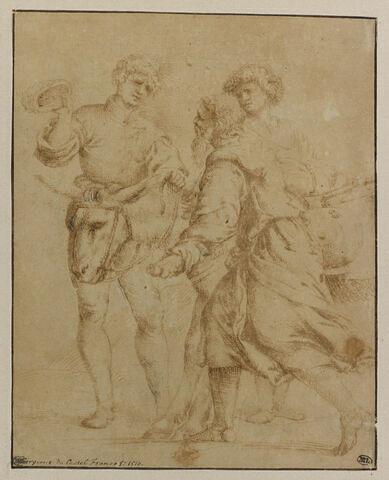 Abraham et Isaac en route vers le lieu du sacrifice