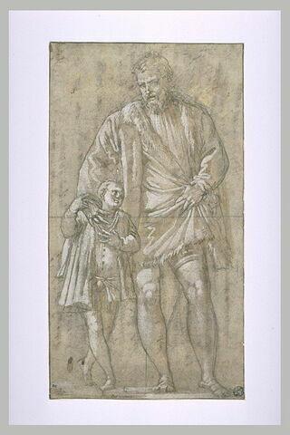 Giuseppe da Porto et son fils Adriano