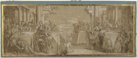 Sainte Madeleine aux pieds du Christ chez le Pharisien