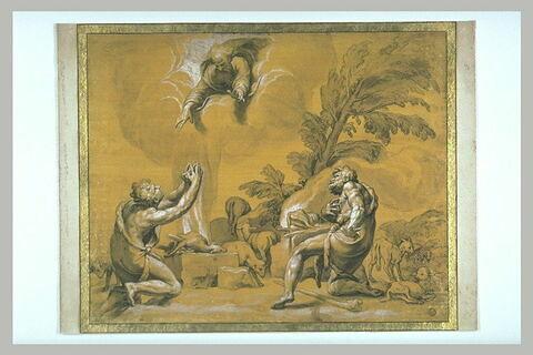 Le sacrifice d'Abel et de Caïn