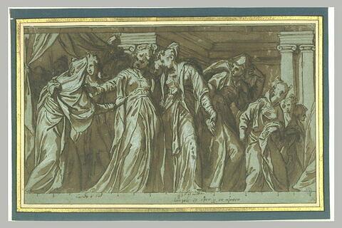 Esther dans le gynécée