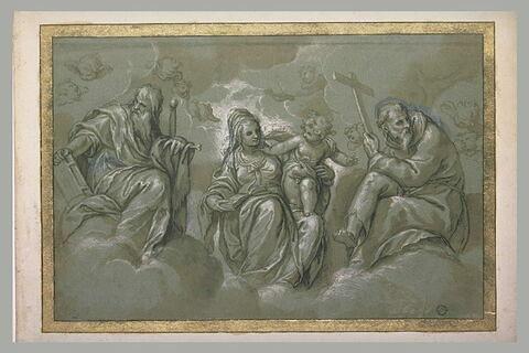 La Vierge et l'Enfant entre saint Paul et saint François d'Assise