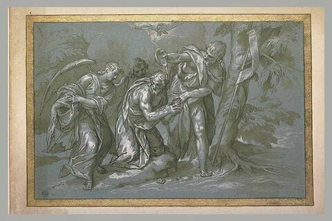 Le Baptême du Christ dans le Jourdain
