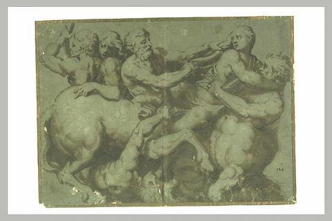 Combat des Lapithes et des Centaures