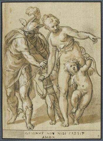 Mercure, Vénus, Eros et Antéros
