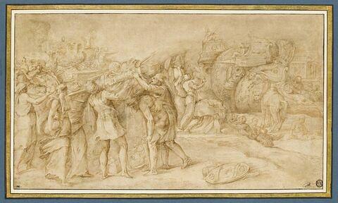 L'embarquement de la flotte grecque
