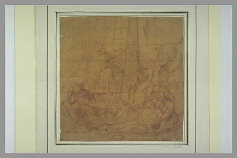 Le Christ descendu de la Croix soutenu par saint Nicodème